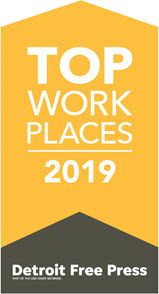 Detroit Free Press 2019 Top Workplaces Award