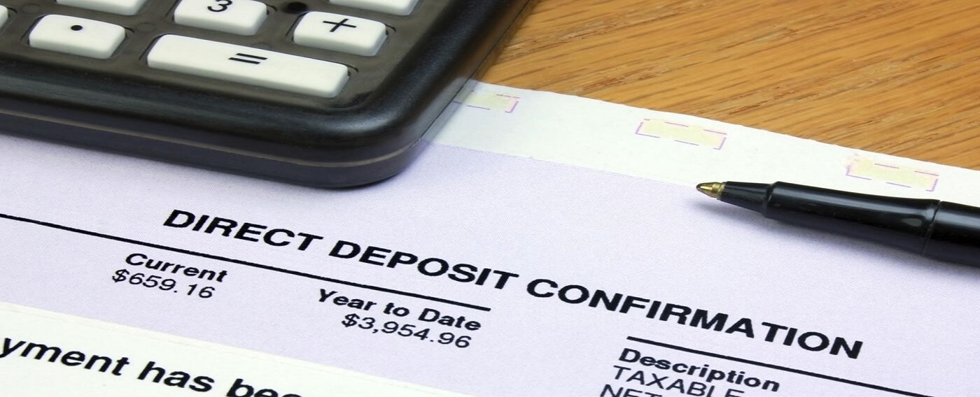 Direct Deposit Form and Calculator